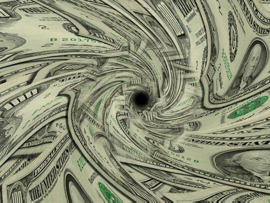 Money Drain #istock