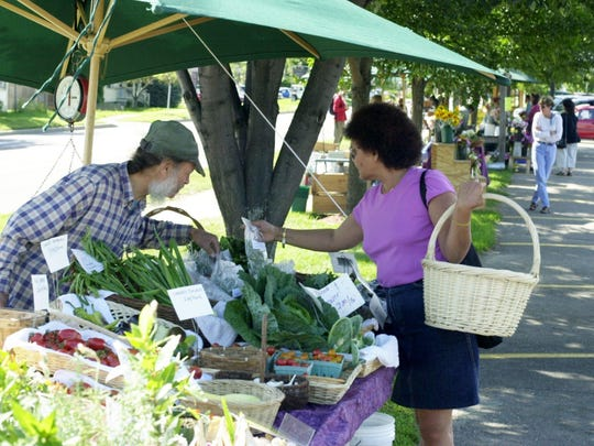 The Five Corners Farmers Market in Essex Junction.