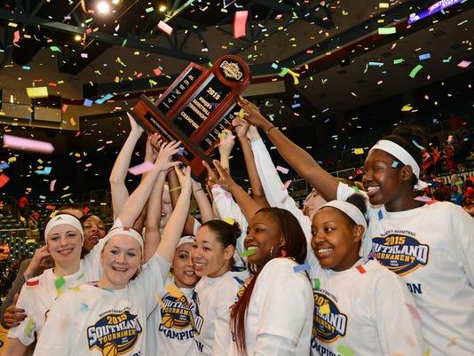 NSU team celebrates