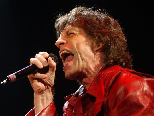 Rolling Stones' Mick Jagger.