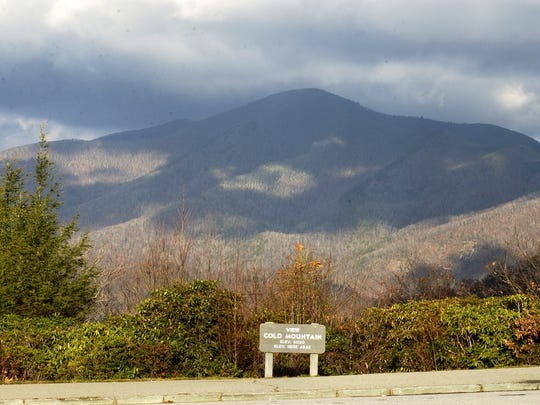 Cold Mountain, as seen from the Blue Ridge Parkway, is part of the Pisgah National Forest. The U.S. Forest Service will hold public meetings on the Pisgah-Nantahala Forest Management Plan revision.