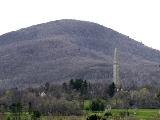 The Bennington Battle Monument seen in this 2005 photo.