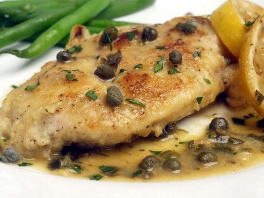 Test Kichen Recipe Chicken Breast With Capers