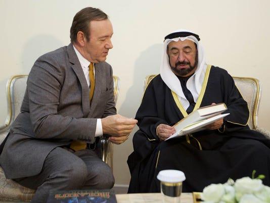 Kevin Spacey, Sultan bin Mohammed Al Qasimi