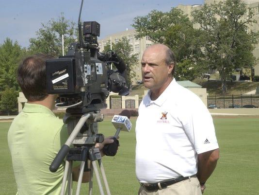 VMI football media day