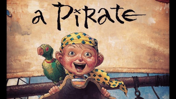 """The cover art for """"How I Became a Pirate."""""""