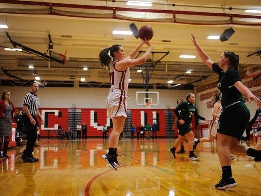 St. Johnsbury vs. CVU Girls Basketball 01/09/18