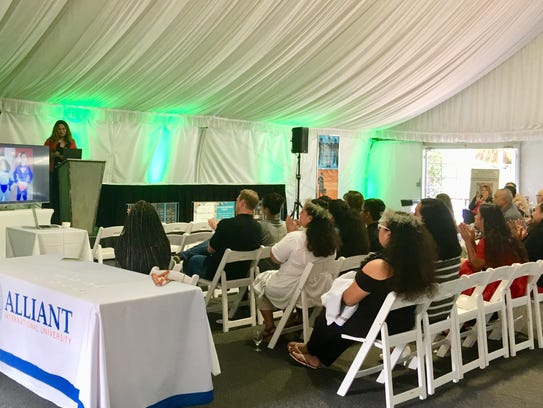 The Islander Elevation event featured a job fair and