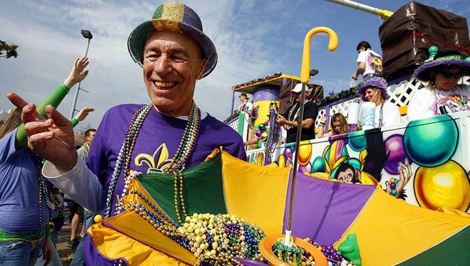 Gulf  Coast Carnival Association Mardi Gras parade in 2008