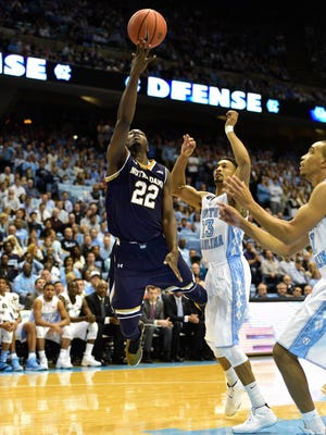 Jerian Grant leads the way for Notre Dame.