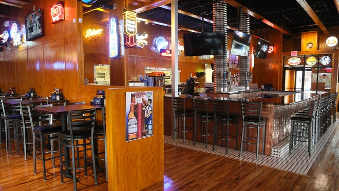 Jethro's BBQ n' Bacon Bacon is open for business serving all meals from morning to night at the old Hooters building in West Des Moines. Monday, Oct. 13, 2014.