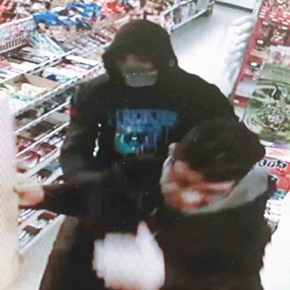 A picture of the man accused of robbing BJ's Food Mart