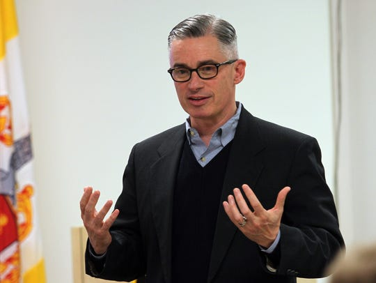 Former New Jersey governor Jim McGreevey, pictured