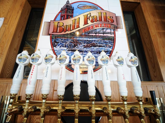 Bull Falls Brewery beers are available in cans and