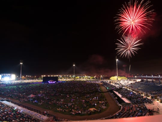 The annual All-American Festival, held July 4 at the