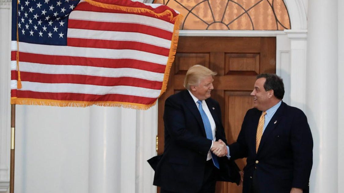 Christie: Trump made me order meatloaf