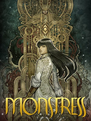 """The cover art for """"Monstress,"""" issue one, written by Marjorie Liu."""