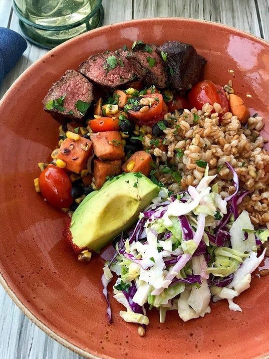 Farm and Craft Tocoa steak bowl