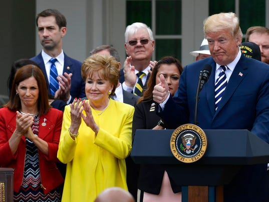 Donald Trump, Marth McSally, Elizabeth Dole, Tom Cotton