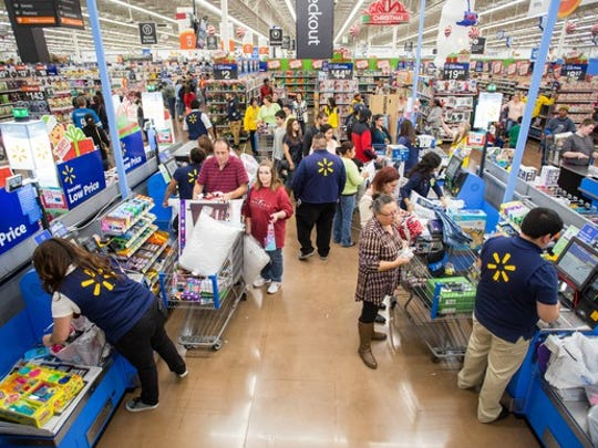 Wal-Mart will be adding seasonal workers this year, as it usually does.