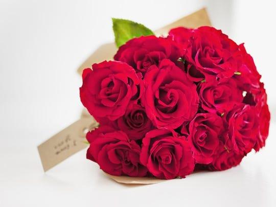 Rose Bouquet Closeup