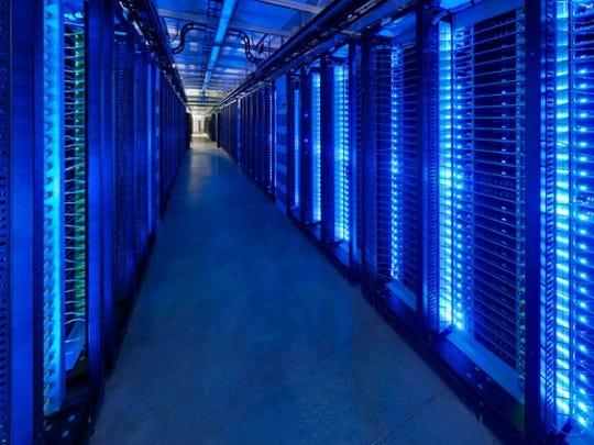 Facebook data center in Prineville, Oregon.