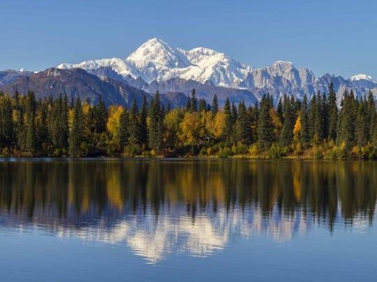 Byers Lake and Denali, Alaska