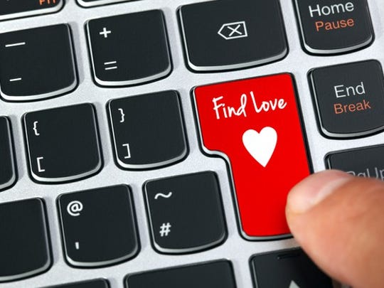 Online dating keyboard.