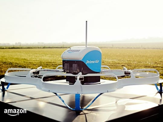 Amazon isn't offering drone delivery -- yet.