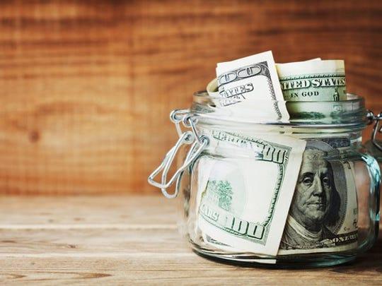 jar full of cash