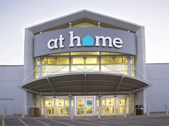 At Home store location from outside front.
