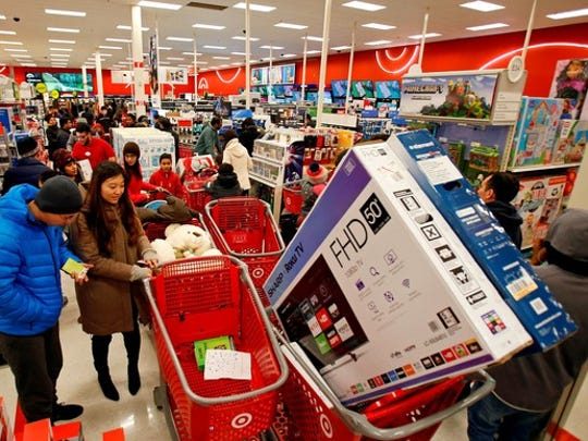Target has Cartwheel offers everyday even on Black Friday, one of the biggest sales days.