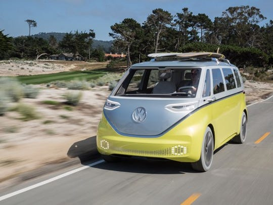 Volkswagen is gearing up to be a major player in electric vehicles. Its I.D. Buzz concept previews one of four VW-brand electrics set to arrive between now and 2023.