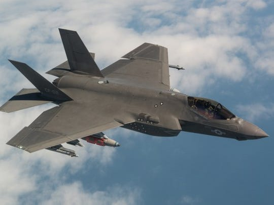 Lockheed Martin's F-35 is gaining altitude.