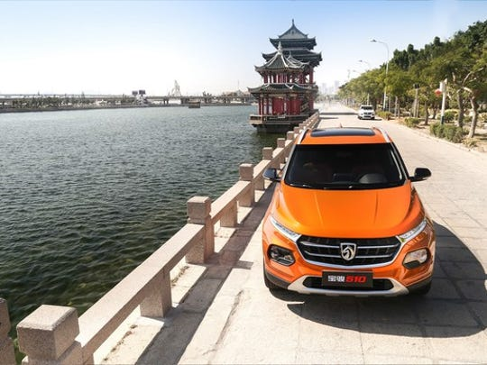 GM launched the Baojun brand to compete with low-cost domestic Chinese automakers. Its compact crossover SUV, the 510, has been a big seller.