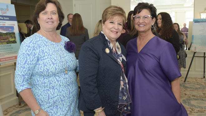 Gail Mazzei, Mary Barnes and Tracey McPhillips