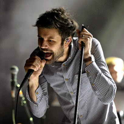Passion Pit performing live at McDowell Mountain Music