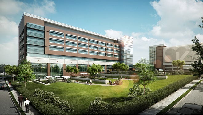 Kennedy Health plans to build a new seven-story patient tower and parking garage at its Washington Township hospital.