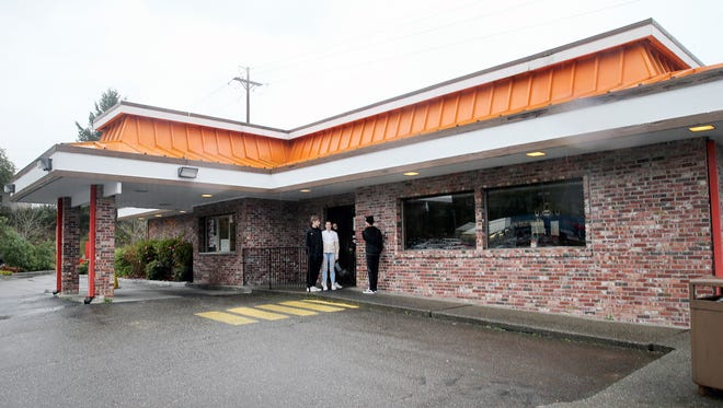 The former Buck's A&W restaurant in Port Orchard.