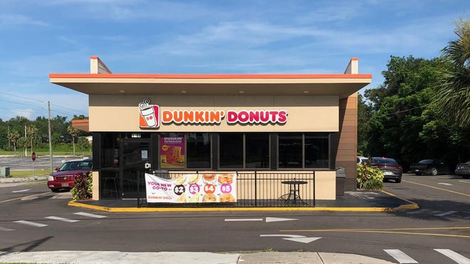 DeLand police were at this Dunkin' Donuts on S. Woodland early Monday morning investigating a shooting.