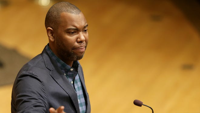 Writer/author Ta-Nehisi Coates speaks about Race in America: A Deeper Black at Lawrence University's Memorial Chapel.