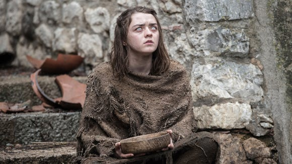 Actress Maisie Williams in 'Game of Thrones.'