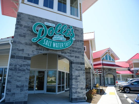 Dolle's Popcorn, Candies and Salt Water Taffy has a new location in West Ocean City. Wednesday, April 18, 2018.