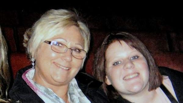 Fran Knox, left and granddaughter Karly Anne Knox from Seward, Neb., were both killed when a tractor-trailer rammed an Amtrak train 65 miles east of Reno, Nev. on Friday June 24, 2011.