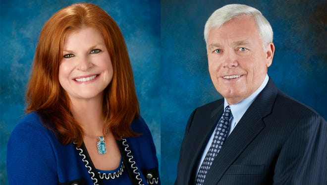 Trustees Myra Haley and Dewey Harriswere recently reappointed by Gov. Rick Scott to the Eastern Florida State College board. They will serve four-year terms through May 31, 2018.
