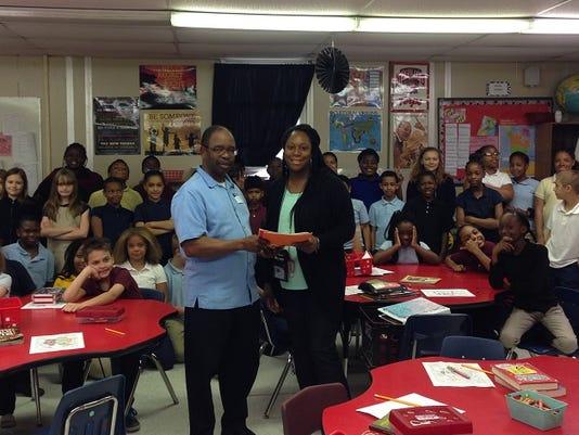 Teacher, students recognized