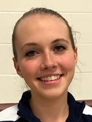Amanda Pike, in a photo from March, was an all-state