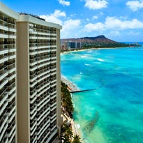 The Sheraton Waikiki overlooks the ocean. Sheratons will be revamped over the next five years.