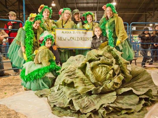 World Record Cabbage