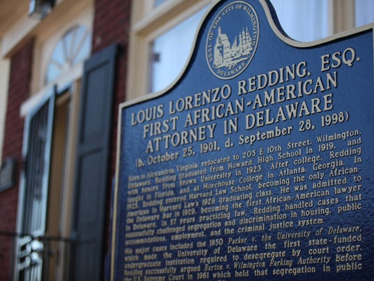 A historical marker was unveiled outside of Louis L.